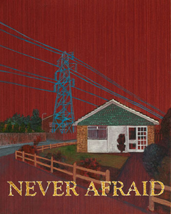 never afraid painting for sold out