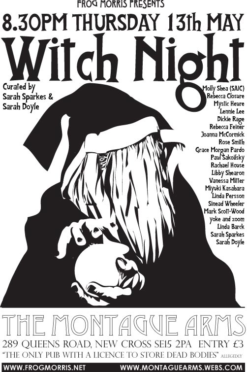 witch night invite